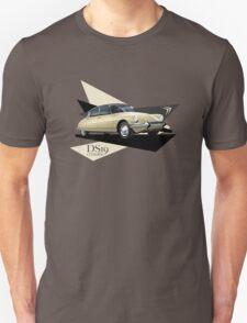 T-shirt Car Art - Citroen DS19  Unisex T-Shirt