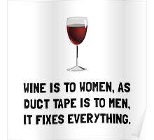 Wine Women Poster