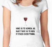 Wine Women Women's Fitted Scoop T-Shirt