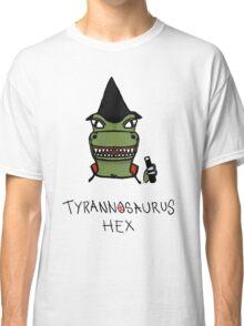 Tyrannosaurus Hex - Front view Classic T-Shirt