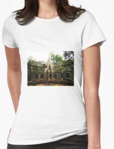 Ta Prohm Womens Fitted T-Shirt