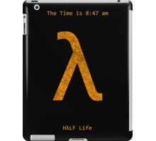 The Time is 8:47 am  iPad Case/Skin