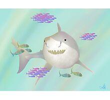 Happy Shark Photographic Print