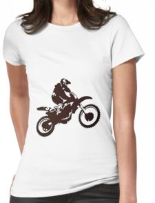 Motor X Silhouette Womens Fitted T-Shirt