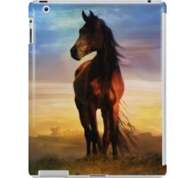 Art of Horse Beautiful Silhouetted Horse iPad Case/Skin