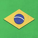 Brazil Flag by capdeville13