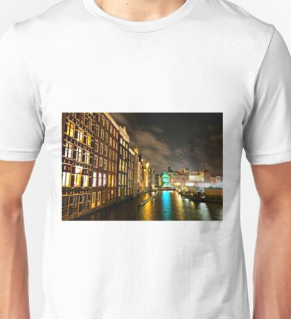Amsterdam at Night Unisex T-Shirt