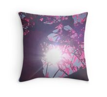 Red Dawn Throw Pillow