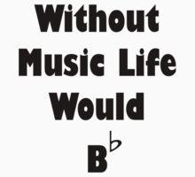 Music B Flat Baby Tee