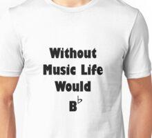 Music B Flat Unisex T-Shirt