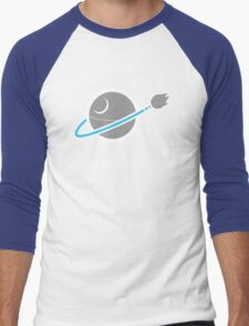 That's no m-SPACESHIP! Men's Baseball ¾ T-Shirt