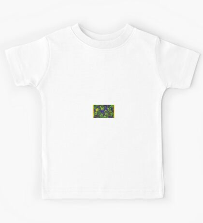 SOFT ABSTRACT COLORFUL PLANT Kids Tee