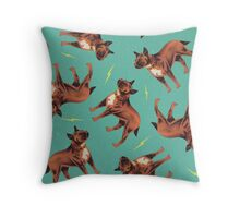 Dicky Bow - Bruno Throw Pillow