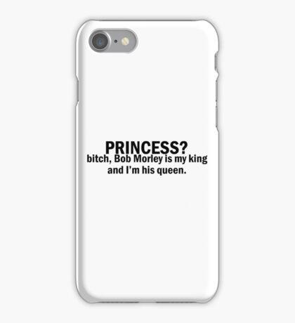 Bob Morley | Princess? King-Queen iPhone Case/Skin