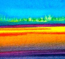 Landscape...Serenity Sticker