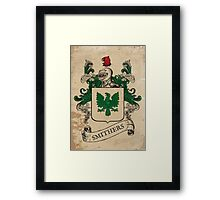 Smithers Coat of Arms (England) Framed Print