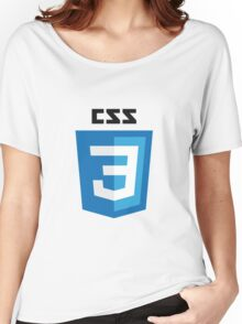 CSS3 Women's Relaxed Fit T-Shirt