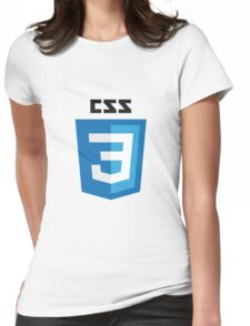 CSS3 Womens Fitted T-Shirt