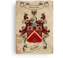 Sears Coat of Arms (England) Canvas Print