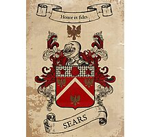Sears Coat of Arms (England) Photographic Print