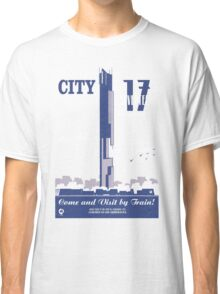 City 17 Travel Poster  Classic T-Shirt