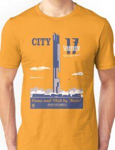 City 17 Travel Poster  Unisex T-Shirt