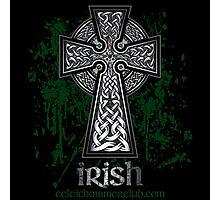 Irish Celtic Cross Photographic Print