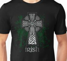 Irish Celtic Cross Unisex T-Shirt