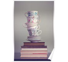 Tea and Books Poster
