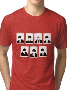 BTS ID Photo- Monochrome (Landscape) Tri-blend T-Shirt