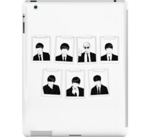 BTS ID Photo- Monochrome (Landscape) iPad Case/Skin