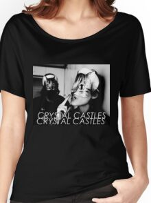 Crystal Castles Cat masks Women's Relaxed Fit T-Shirt