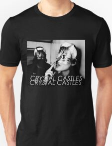 Crystal Castles Cat masks T-Shirt