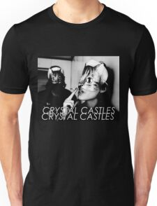 Crystal Castles Cat masks Unisex T-Shirt