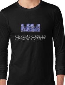 Crystal Castles// Crystal castle Long Sleeve T-Shirt