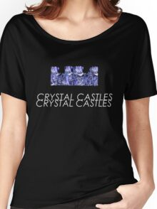 Crystal Castles// Crystal castle Women's Relaxed Fit T-Shirt