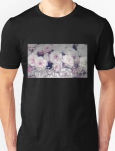 Crystal Castles washed out flowers T-Shirt