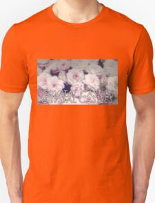 Crystal Castles washed out flowers Unisex T-Shirt