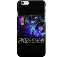 Crystal Castles Glitch Art iPhone Case/Skin
