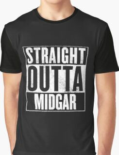 Straight Outta Midgar - Final Fantasy VII Graphic T-Shirt