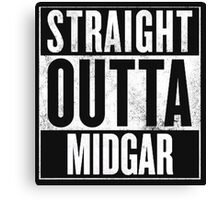 Straight Outta Midgar - Final Fantasy VII Canvas Print