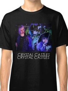 Crystal Castles Glitch Art Classic T-Shirt