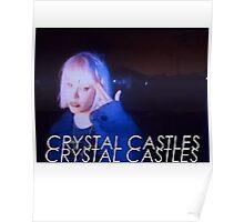Crystal Castles Alice VHS filter Poster