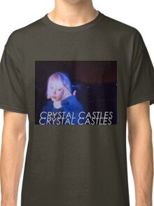 Crystal Castles Alice VHS filter Classic T-Shirt