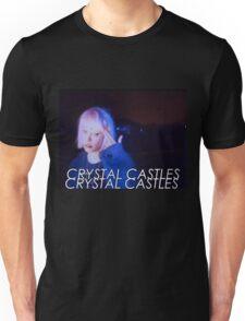 Crystal Castles Alice VHS filter Unisex T-Shirt