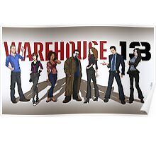 Warehouse 13 - Drawing - Cast Poster