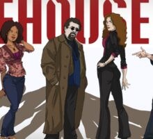 Warehouse 13 - Drawing - Cast Sticker