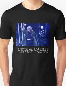 Crystal Castles Alice Performing VHS Filter T-Shirt