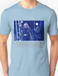 Crystal Castles Alice Performing VHS Filter Unisex T-Shirt