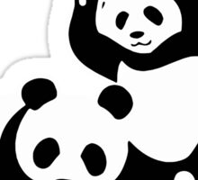 WWF Panda Funny Sticker